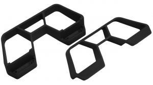 Nerf bars Svart Traxxas Slash 4x4 LCG RPM