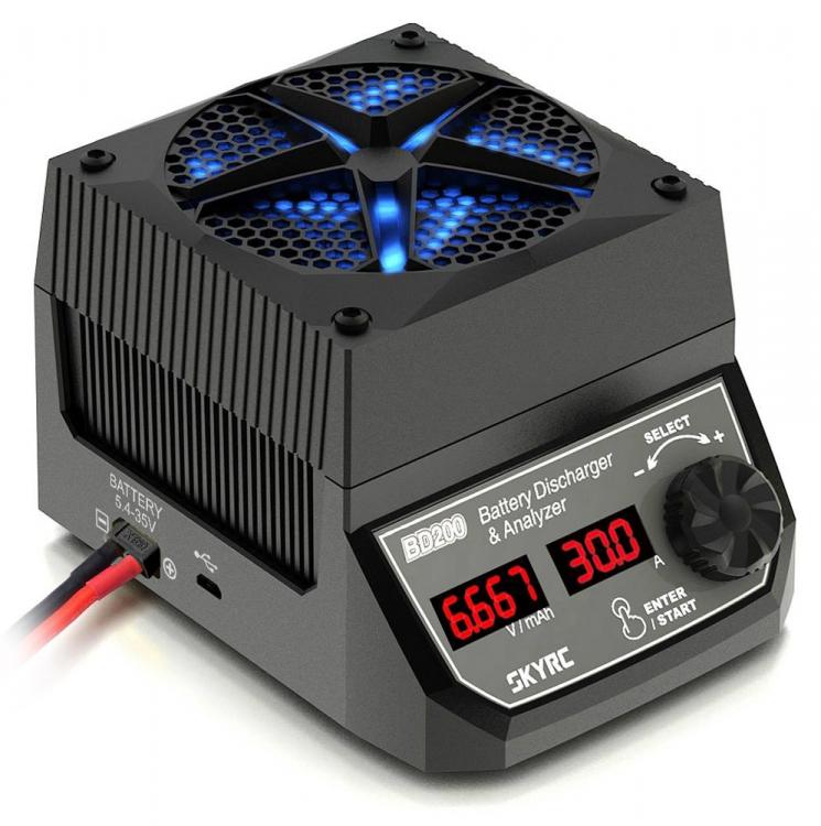 SkyRC BD200 Batteri Urladdare & Analysator
