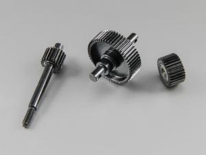 Center Drive Gears. Stål SCX-10