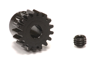 Motordrev Mod 0.8 (32P) Stål 5mm axel
