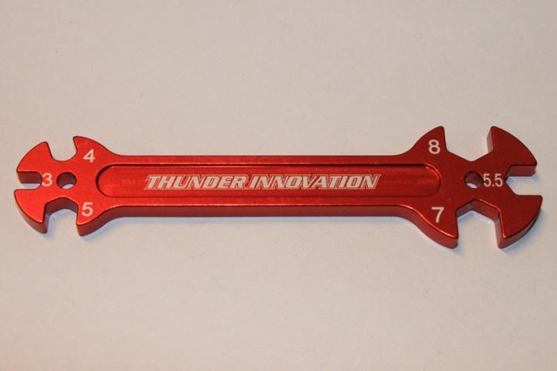 Turnbuckle Nyckel Multi 3, 4, 5, 5.5, 7, 8mm