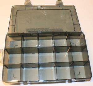 Sortimentslåda 15 fack 280x170x55mm