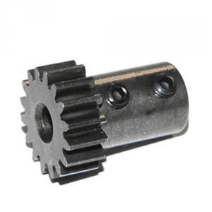 Pinion. Long Shank. Mod 1. 19T. 5mm axel. Tekno RC.