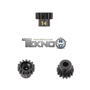 TKR4174 Pinion Gear 14T MOD1 5 mm axel Tekno RC