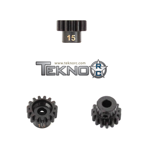 TKR4175 Pinion Gear 15T. MOD1. 5 mm axel. Tekno RC