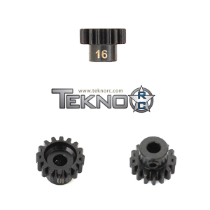 TKR4176 Pinion Gear 16T. MOD1. 5 mm axel. Tekno RC