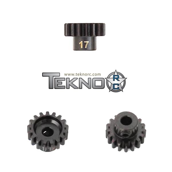TKR4177 Pinion Gear 17T. MOD1. 5 mm axel. Tekno RC