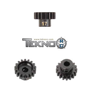 TKR4177 Pinion Gear 17T. MOD1. 5 mm axel. Tekno RC