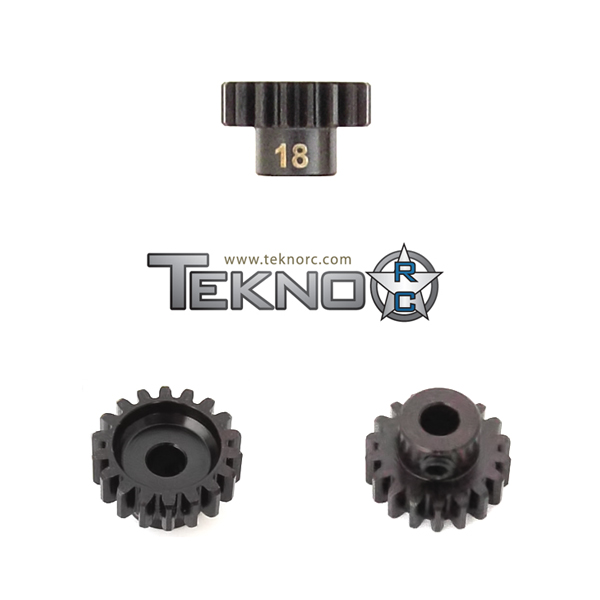 TKR4178 Pinion Gear 18T. MOD1. 5 mm axel. Tekno RC