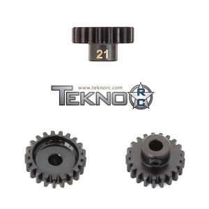TKR4181 Pinion Gear 21T. MOD1. 5 mm axel. Tekno RC