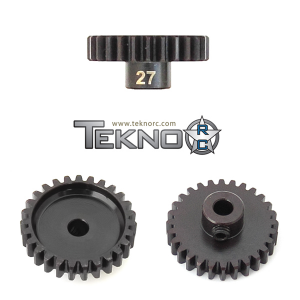 TKR4187 Pinion Gear 27T MOD1 5 mm axel Tekno RC