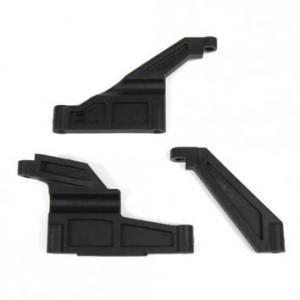 Chassie Brace Set (Front/Rear/Center) Tekno EB48.4