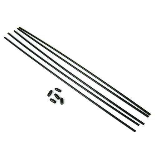 Antenna Tube with Caps 5 pcs. Tekno EB48.4