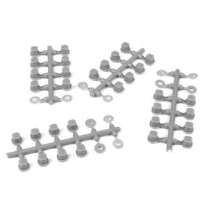 TKR6544B – Hinge Pin Inserts, Wheelbase Shims (requires TKR6523HD pins, EB410.2)