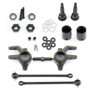 Drivaxlar och Styrspindlar Fram 6mm Tekno RC Slash 4x4/Rustler 4x4