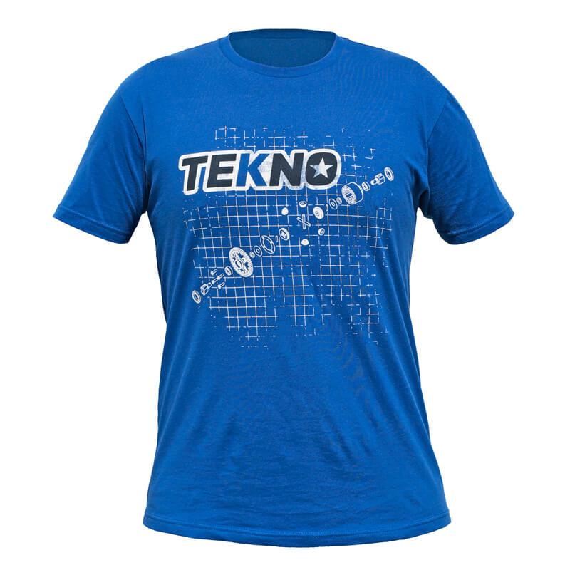 T-Shirt Tekno RC Blå