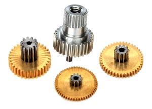 TRX2082X Metall Drevsats till Servo 2080/2080X