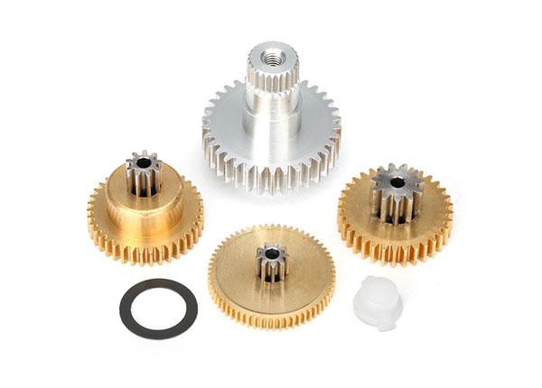 Drevsats Metall till Servo TRX2085X/TRX2085