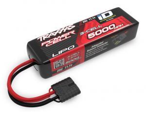 TRX2832X Li-Po Batteri 3S 11,1V 5000mA 25C iD-Kontakt (Kort)