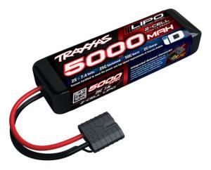 TRX2842X Li-Po 2S 7,4V 5000mAh 25C iD-Kontakt (Kort)