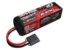 TRX2857X LiPo 3S 11,1V 25C 6400mAh TRX ID-kontakt