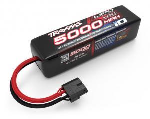 Li-Po Batteri 4S 14,8V 5000mAh 25C Traxxas iD-Kontakt