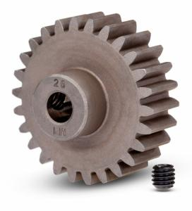 TRX6497 Motordrev (Pinion) 26T 1.0M Pitch för 5mm Axel