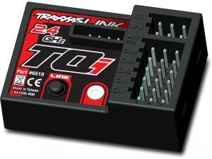 TRX6518 Mottagare TQi 2.4GHz 5 kanaler Telemetri