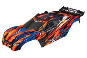 TRX6717T Kaross Rustler 4x4 Orange