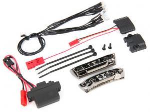 TRX7185A LED Ljus Fram & Bak Komplett Set 1/16 E-Revo