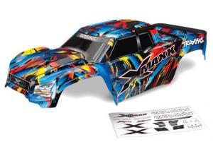 TRX7711T Kaross X-Maxx Rock 'n' Roll inkl. Dekaler