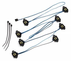 TRX8026X LED Ljus Hjulhus Traxxas TRX-4/TRX-6