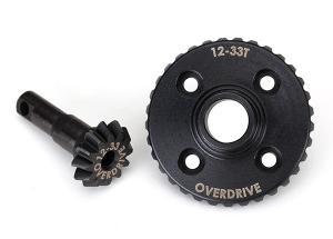 TRX8287 Ringdrev & Piniondrev Overdrive 12/33T (CNC) TRX-4/TRX-6