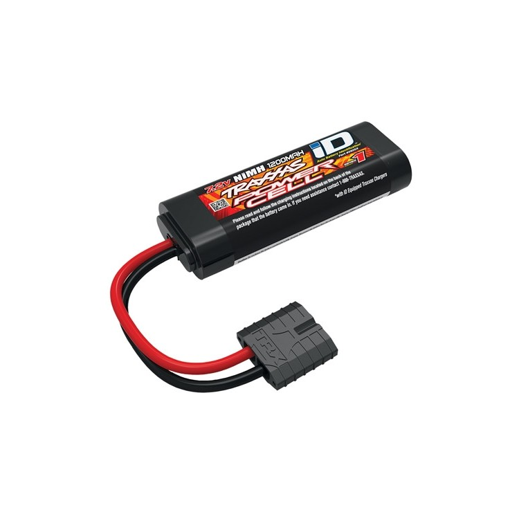 Batteri NiMH 6-cell 7,2V 1200mAh 1/16 ID-kontakt