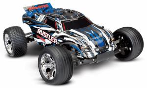 Traxxas Rustler 2WD 1/10 RTR TQ Borstad - Utan Batt/Laddare