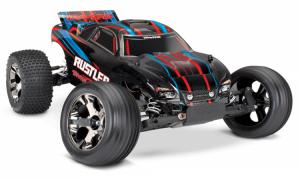 Rustler VXL 2WD 1/10 RTR TQi TSM utan batteri & laddare