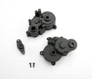 TRX3991X Gearbox halves F/R. E-Revo 1/10