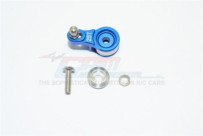 Servohorn i aluminium för TRX4 (små servo) 3 st.