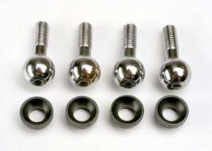 TRX4933 Pivot Balls/Pivot Ball Cap Bushings. E-Revo 1/10