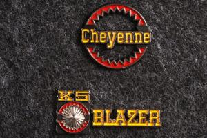 K5 Blazer/Cheyenne Metall Logga