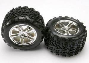 TRX5174 Tires & Wheels. Limmade. E-Revo 1/10