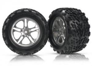 TRX5174A Tires & Wheels. Limmade. E-Revo 1/10