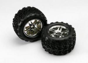 TRX5174R Tires & Wheels. Limmade. E-Revo 1/10