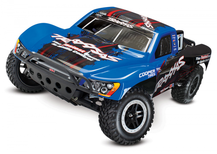 Traxxas Slash VXL 2WD 1/10 RTR TQi TSM utan Batt & Laddare