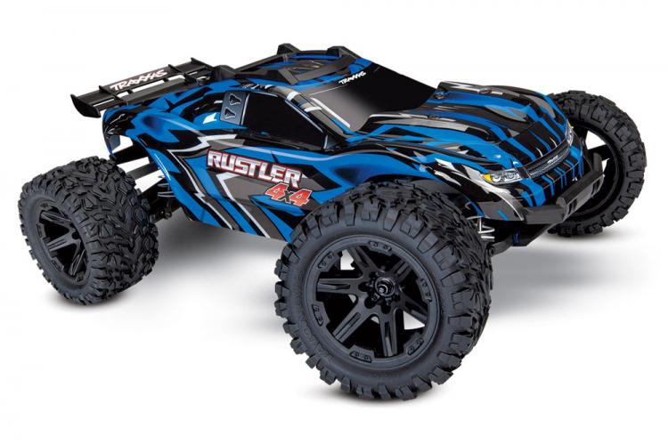 Rustler 4x4 XL-5 1/10 RTR TQ med Batteri & Laddare