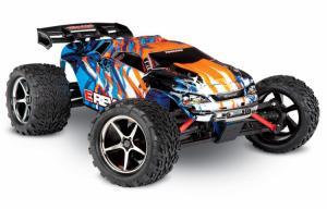 Traxxas E-Revo 1/16 4WD RTR TQ (Borstad) - med Laddare/Batteri