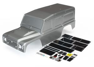 TRX-4 Kaross Land Rover Defender Grafit Silver