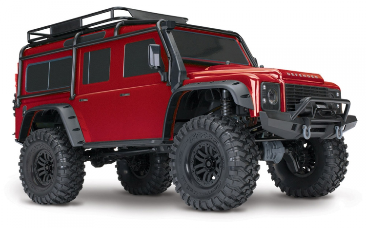 TRX-4 1/10 Scale & Trail Crawler Land Rover Defender RTR