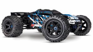 Traxxas E-REVO 2.0 Borstlös 4WD TQi TSM RTR (Välj med eller utan batteri/laddare)