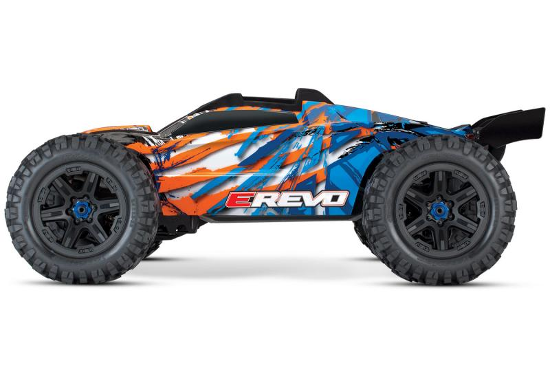 Traxxas E-REVO 2.0 Borstlös 4WD TQi TSM utan batt & laddare RTR